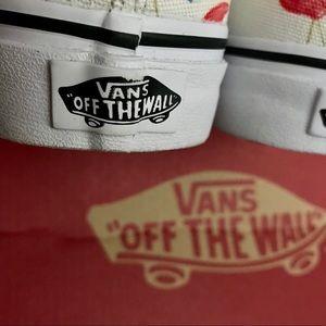 Vans Shoes - Pink Flamingo VANS Canvas Poolside Vibes Sneakers